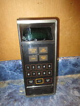 GE MICROWAVE CONTROL PANEL PART  WB27X338 WB2X4662