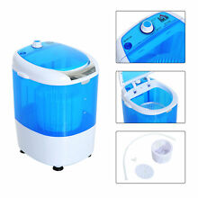 Compact Portable Washing Machine Laundry Washer Electric spin Dorm Apartment