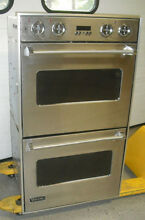 Viking 30  Double Electric Wall Oven Professional Ultra Premium Model VEDO530SS
