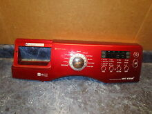 SAMSUNG WASHER CONTROL PANEL RED   DC64 01838A DC92 00255A