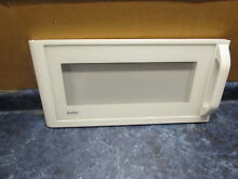 KENMORE MICROWAVE DOOR WHITE PART  3720W0D087B