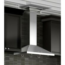 48  ZLINE STAINLESS STEEL LED WALL RANGE HOOD CROWN MOLDING KBCRN 48