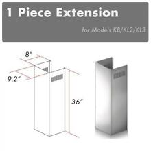 ZLINE CHIMNEY EXTENSION FOR WALL RANGE HOOD upTO 10 FT ceiling for KB  KL2  KL3