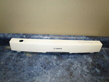 BOSCH DISHWASHER CONTROL PANEL PART  00687042