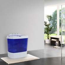 Easy Portable Counter Compact Washer Washing Machine Semi automatic Twin Tube