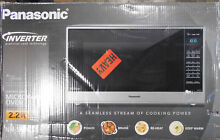 Panasonic 2 2 Cu  Ft  Stainless steel Microwave Oven