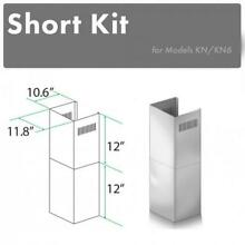 ZLINE SHORT CHIMNEY KIT FOR WALL RANGE HOOD under 8 FT ceiling for KN  KN6