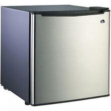 Small Refrigerator Dorm Fridge 1 7 cu ft Office Compact Room Beer Cooler Steel
