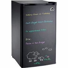 Igloo Eraser Board Refrigerator  3 2 cu ft Mini Fridge Cooler Office