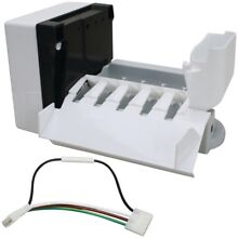 EXACT REPLACEMENT PARTS Ice Maker for Whirlpool Refrigerators
