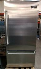 VIKING 36  BUILT IN  REFRIGERATOR RIGHT HINGE IN STAINLESS STEEL
