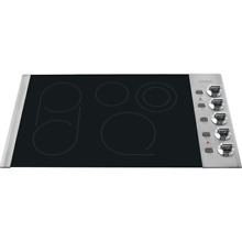 Frigidaire FPEC3685K Stainless Steel 36  Smoothtop Electric Cooktop