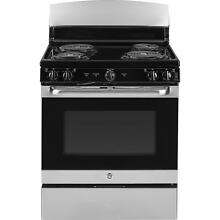GE Stainless Steel 30 inch Free Standing Electric Range with Oven