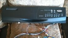 Whirlpool Quiet Partner I  dishwasher control panel and electrical harness