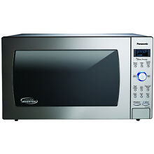Panasonic NNSD975S Stainless Microwave Oven with Cyclonic Wave Technology