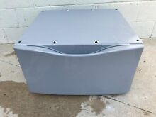 Whirlpool Pedestal whp1500sud  whp1500sl0 Laundry Pedestal with Storage Drawer