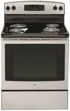 GE 290245 Free St ing Electric Range  Self Cleaning  30 In  5 0 Cu  Ft SS