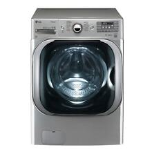 LG WM8100HVA 5 2 cu  ft  Mega Capacity TurboWash  Washer with Steam Technology