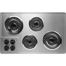 Frigidaire FFEC3205L Stainless Steel 32  Electric Cooktop with Ready Select