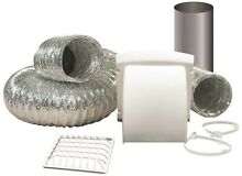 Everbilt 3571146 Dryer Vent Kit  Includes 4 In  X 8 Ft