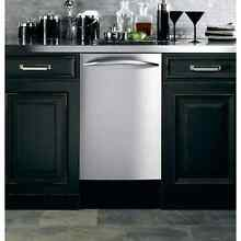 GE Stainless Steel 18 inch Fully Integrated Dishwasher