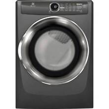 Electrolux EFME517S 27 Inch Wide 8 Cu  Ft  Energy Star Rated Electric Dryer with