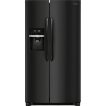 Frigidaire FGSS2635T 36 Inch Wide 25 5 Cu  Ft  Side By Side Refrigerator with Ad
