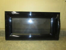 WHIRLPOOL MICROWAVE DOOR BLACK PART  8172122