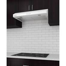 Ancona Elite 30 in  Ducted 280 CFM Under Cabinet Range Hood in White