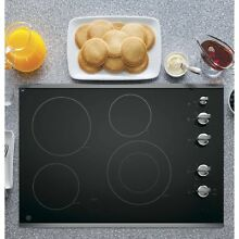 GE Ceramic Metal 30 inch Smoothtop Electric Cooktop