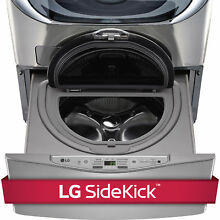LG WD200CV 1 0 cubic Foot SideKick Pedestal Washer  LG TWIN Wash Compatible in