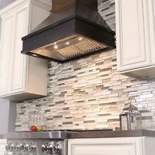 ZLINE 30 in  Wooden Wall Mount Range Hood in Antigua and Hamilton   Includes 900