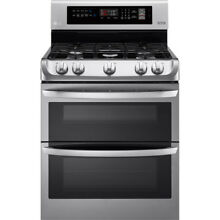 LG LDG4311ST 30 Inch Double Oven Gas Range   STAINLESS STEEL