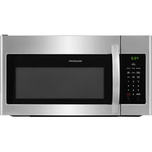 Frigidaire 1 6 Cu  Ft  Over The Range Microwave   Stainless Steel