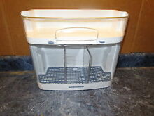 KENMORE REFRIGERATOR DOOR BIN BLUE GRID PART  W10121601