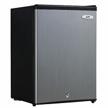 SPT 2 1 Cu  Ft  Stainless Steel Energy Star Upright Freezer