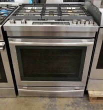 JENN AIR 30  EURO STYLE STAINLESS STEEL DUAL FUEL RANGE STAINLESS STEEL