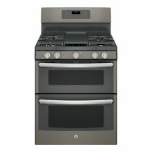 GE 30 inch Free standing Gas Double Oven with Convection Range