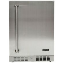 COYOTE  24 inch Stainless Steel Outdoor Refrigerator