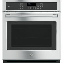 GE Cafe Series Stainless Steel 27 Inch Single Electric Wall Oven