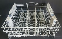 Kenmore Dishwasher Upper Dish Rack WP8539242 With Wheels and rack adjuster