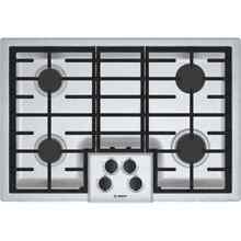 Bosch NGM5056UC 500 Series 30 Inch Wide Built In Gas Cooktop with 4 Sealed Burne