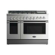48  GAS RANGE6 BURNERS WITH GRIDDLE