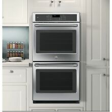 GE Cafe Series CK7500SHSS 27 inch Double Electric Wall Oven