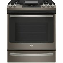 GE 30  Slide In Front Control Convection Gas Range