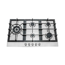 Cosmo 30 inch Stainless Steel Gas Cooktop  850sltx e