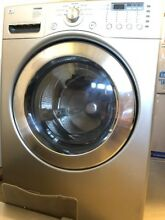 Washer and Dryer in excellent condition Stainless Steel  It comes with 2 drawers