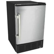 EdgeStar IB120 15  Wide 6 Lbs  Capacity Built In Ice Maker