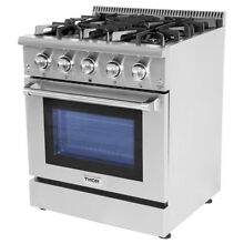 Gas Range 30  Thor HRG3080U Professional Stainless Steel 4 Burner Updates