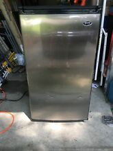 SANYO 4 4 CF Compact Refrigerator Mini Freezer College Home Office Dorm Fridge